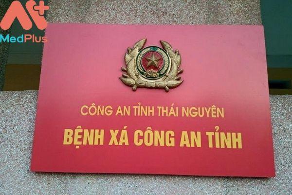 Bệnh xá công an tỉnh Thái Nguyên