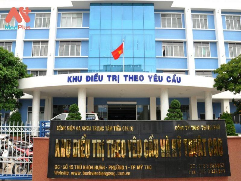 CHi phí khám bệnh viện đa khoa trung tâm Tiền Giang