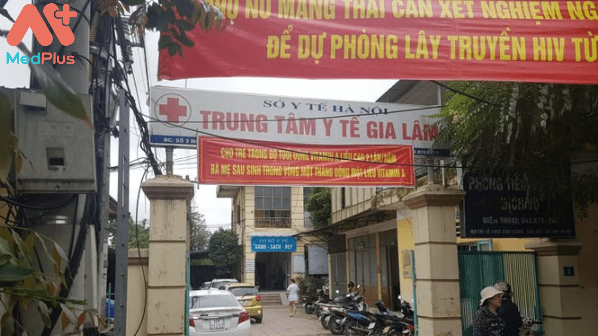 Trung tâm Y tế Gia Lâm Hà Nội