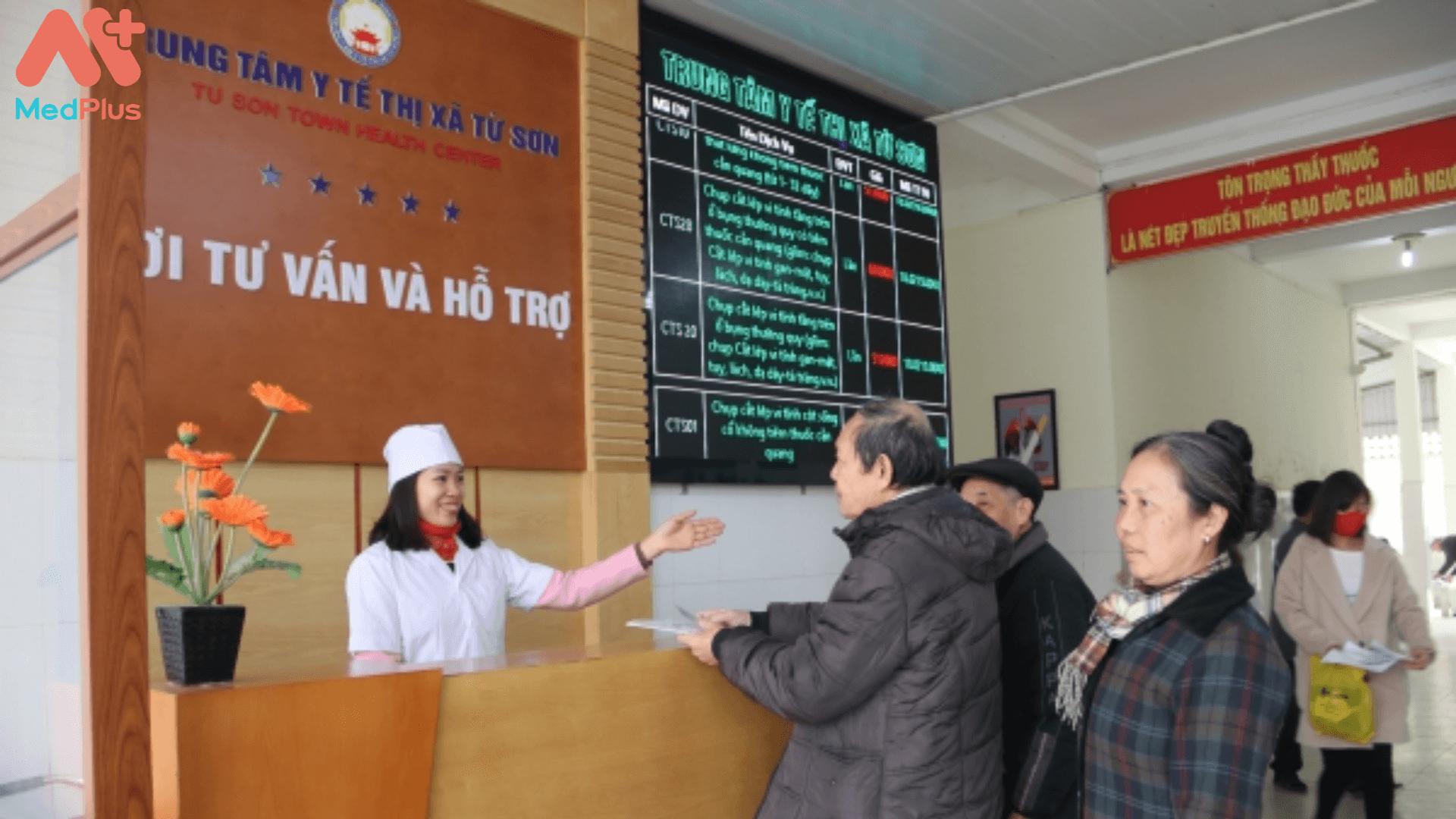 Giới thiệu về trung tâm Y tế Thị xã Từ Sơn