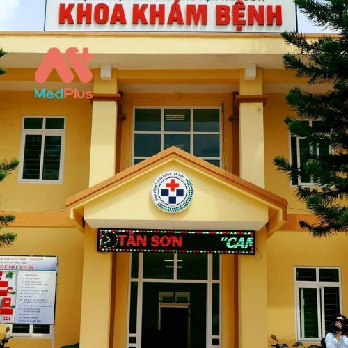 Khoa khám bệnh tại Trung tâm YT huyện Tân Sơn