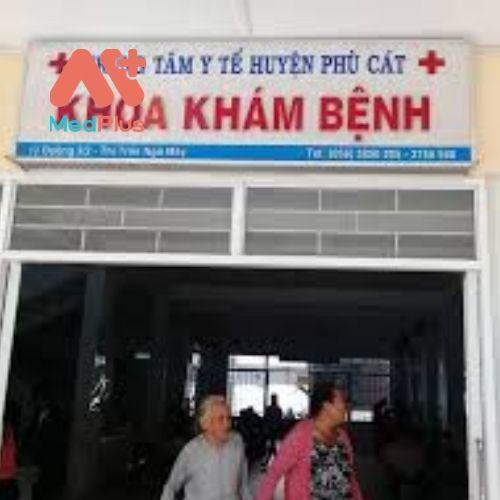 Khoa khám bệnh tại TTYT huyện Phù Cát - Bình Định