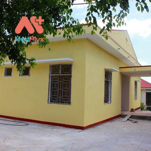 Khu nhà điều trị cho cán bộ trung cao tại Trung tâm Y tế huyện Kông Chro