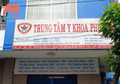 Phòng khám Phú Lâm chuyên khám Amidan hàng đầu Bình Tân