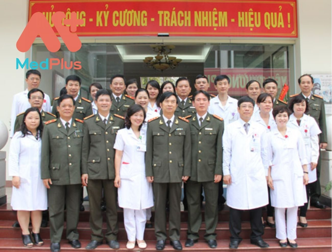 Đội ngũ bác sĩ tại bệnh viện