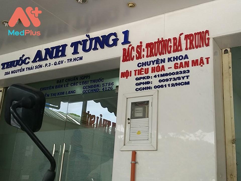 Phòng khám TS.BS Trương Bá Trung – Chuyên khoa Tiêu hóa – Gan mật