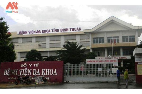 địa chỉ bệnh viện đa khoa tỉnh Bình Thuận