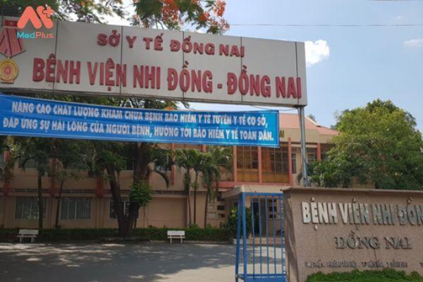 Thông tin về bảng giá bệnh viện Nhi Đồng Đồng Nai