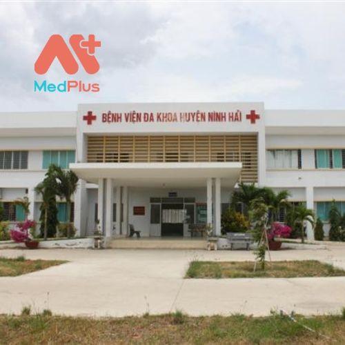 Trụ sở Trung tâm y tế huyện Ninh Hải