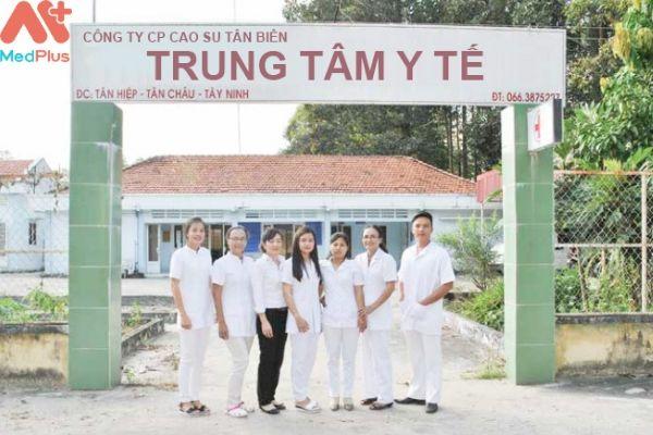 Trung tâm y tế Cao su Tân Biên