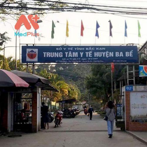 Trung tâm y tế huyện Ba Bể