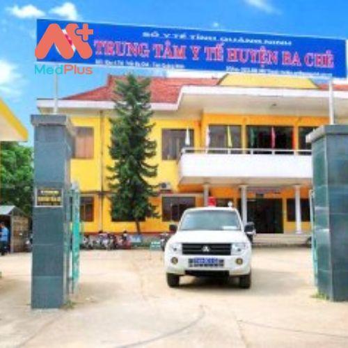 Trung tâm y tế huyện Ba Chẽ