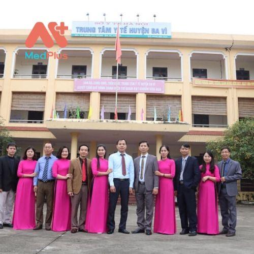 Trung tâm y tế huyện Ba Vì