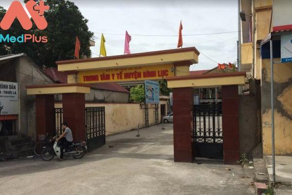 Trung tâm y tế huyện Bình Lục