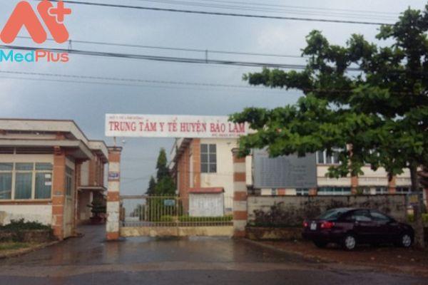 Trung tâm y tế huyện Bảo Lâm
