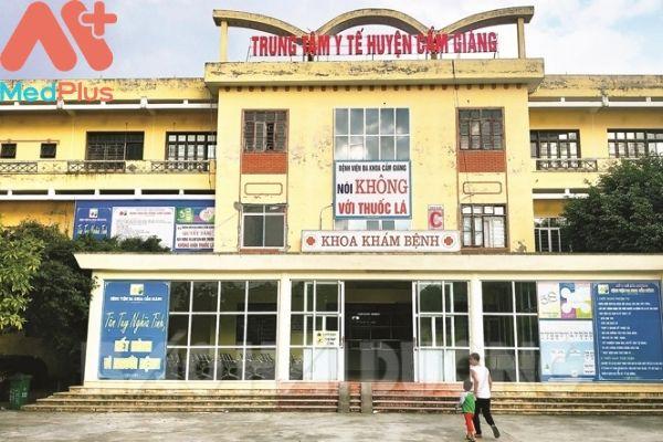 Trung tâm y tế huyện Cẩm Giàng