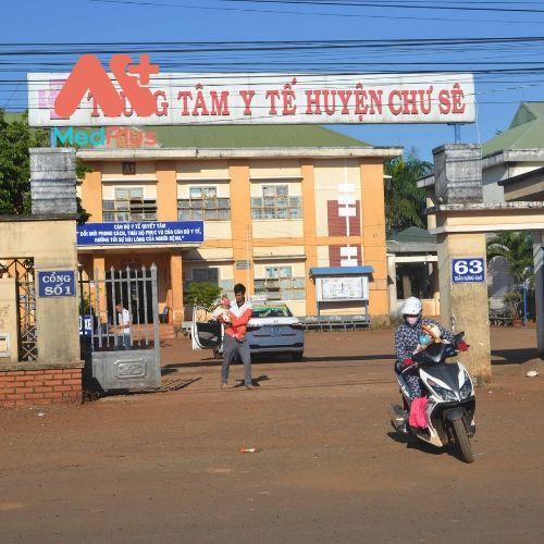 Trung tâm y tế huyện Chư Sê - Tỉnh Gia Lai