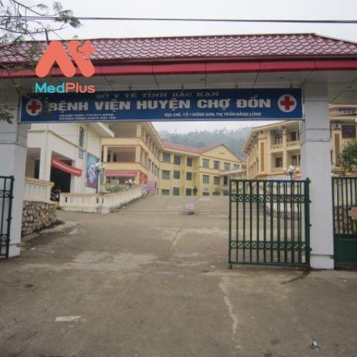 Trung tâm y tế huyện Chợ Đồn