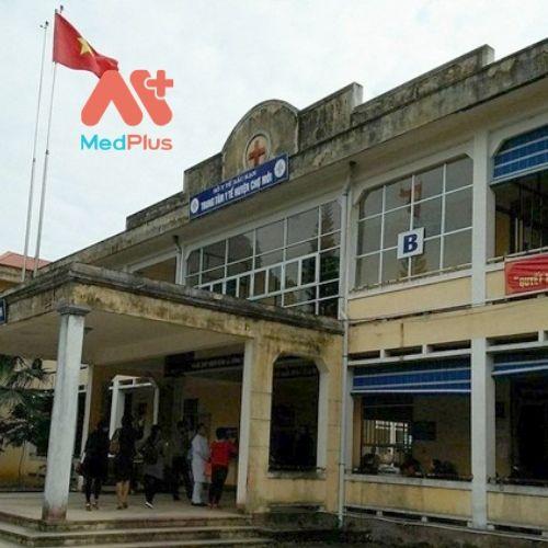 Trung tâm y tế huyện Chợ Mới