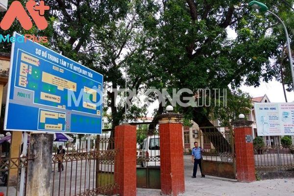 Trung tâm y tế huyện Duy Tiên