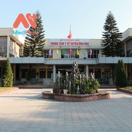Trung tâm y tế huyện Ứng Hòa
