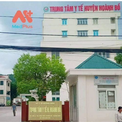 Trung tâm y tế huyện Hoành Bồ