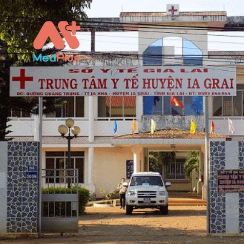 Trung tâm y tế huyện Ia Grai
