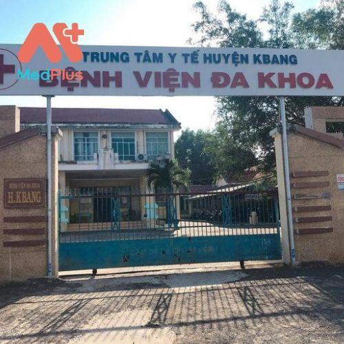 Trung tâm y tế huyện KBang - Tỉnh Gia Lai
