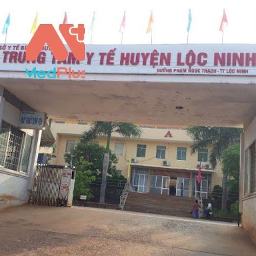Trung tâm y tế huyện Lộc Ninh