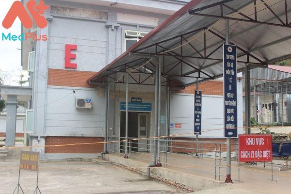 Trung tâm y tế huyện Mường Tè
