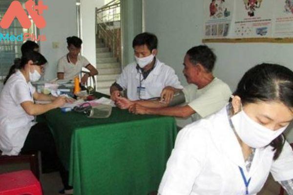 Trung tâm y tế huyện Núi Thành