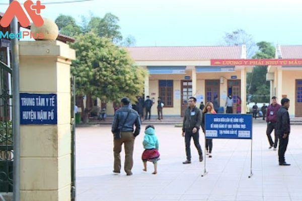 Trung tâm y tế huyện Nậm Pồ