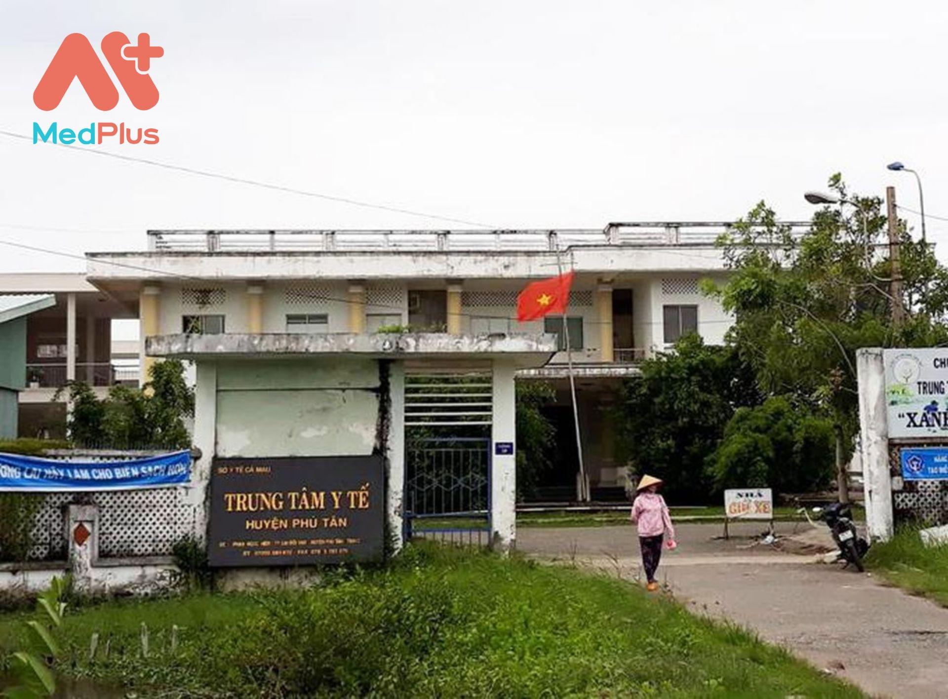 Trung tâm y tế khu vực Phú Tân, tỉnh Cà Mau