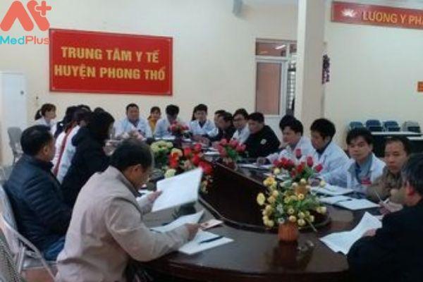 Trung tâm y tế huyện Phong Thổ