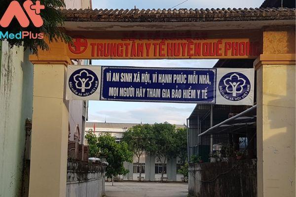 Trung tâm y tế huyện Quế Phong