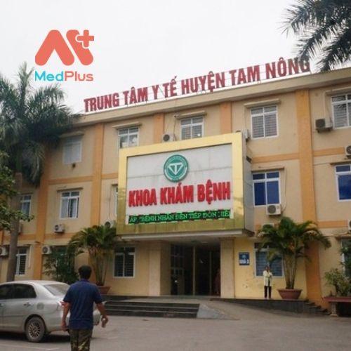 Trung tâm y tế huyện Tam Nông - Phú Thọ