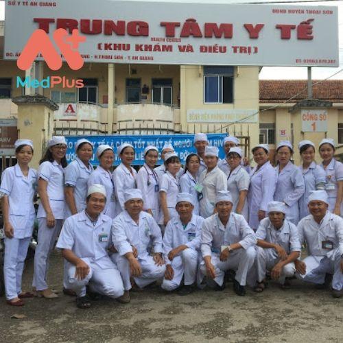Trung tâm y tế huyện Thoại Sơn tại tỉnh An Giang