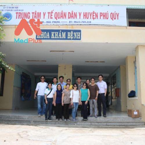 Trung tâm y tế Quân Dân Y huyện Phú Quý