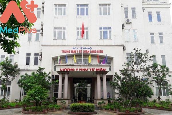 Trung tâm y tế quận Long Biên