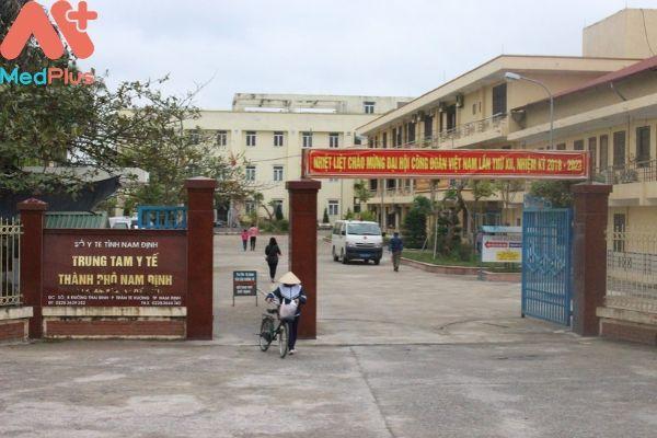 Trung tâm y tế Thành phố Nam Định
