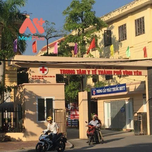 Trung tâm y tế Thành Phố Phúc Yên