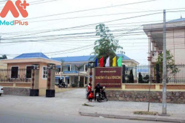 Trung tâm y tế thành phố Sông Công