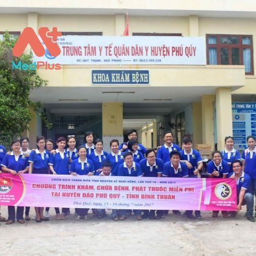 TTYT Quân Dân Y huyện Phú Quý