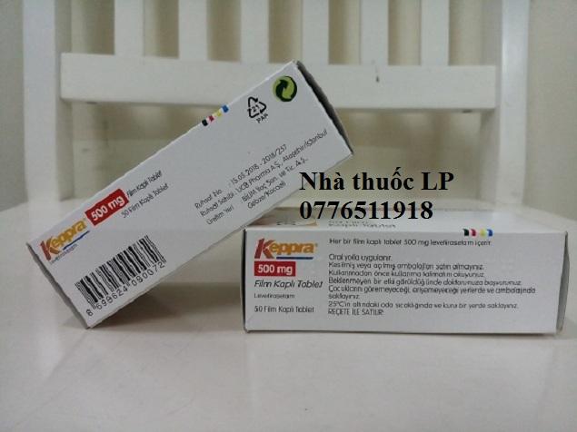 Thuốc Keppra 500mg Levetiracetam chống co giật (động kinh) (4)