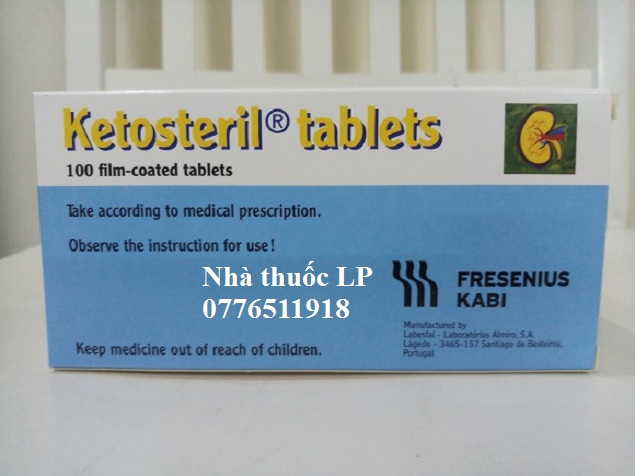 Thuốc Ketosteril 600mg Methionine điều trị bệnh thận mãn tính (1)