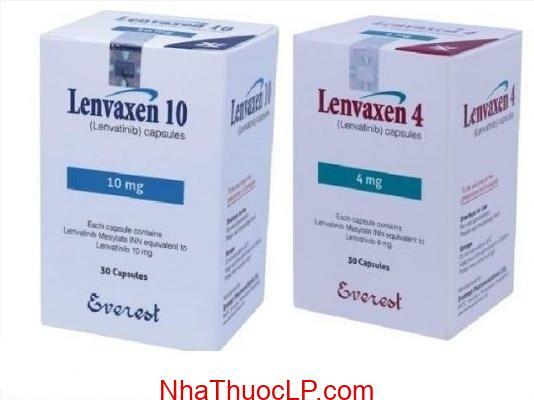 Thuốc Lenvaxen 4mg & 10mg Lenvatinib điều trị ung thư gan (2)