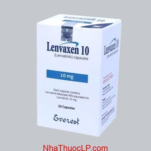 Thuốc Lenvaxen 4mg & 10mg Lenvatinib điều trị ung thư gan (4)