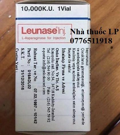 Thuốc Leunase 10.000 KU L-asparaginase điều trị bệnh bạch cầu cấp (2)