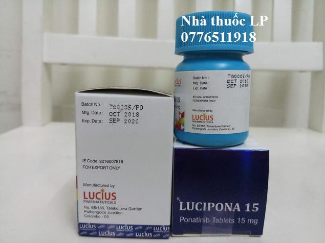 Thuốc Lucipona 15mg Ponatinib điều trị ung thư bạch cầu (4)
