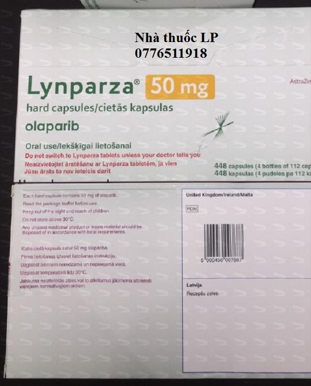 Thuốc Lynparza 50mg Olaparib điều trị ung thư buồng trứng (4)